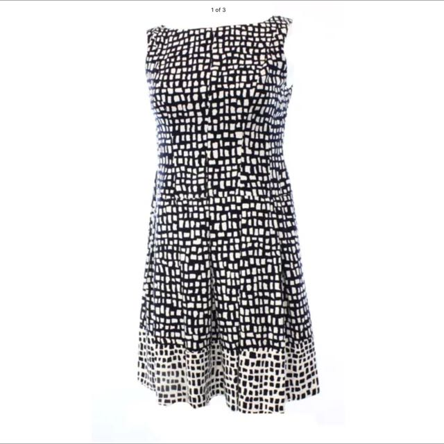 Ralph Lauren Black And White Dress Size 12
