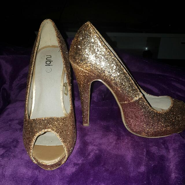 Rubi Glitter Heels