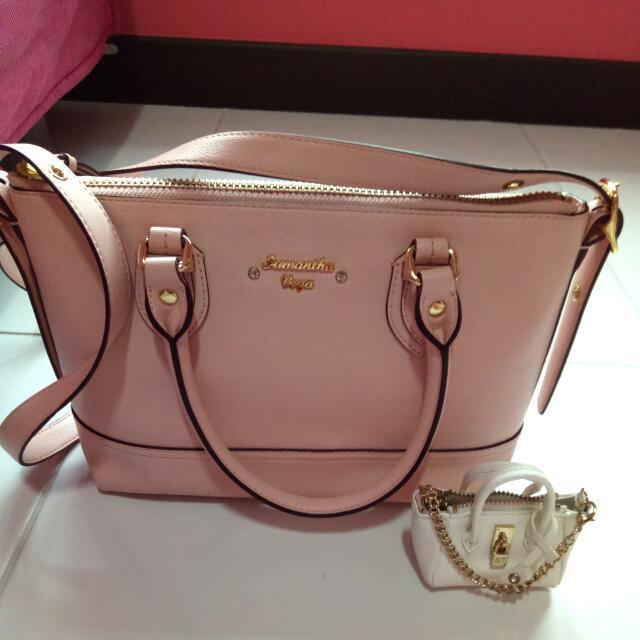 [reduced price] Samantha Thavasa Mini Bag Charm Keychain