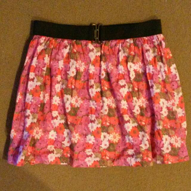 Skirt flowers Summer
