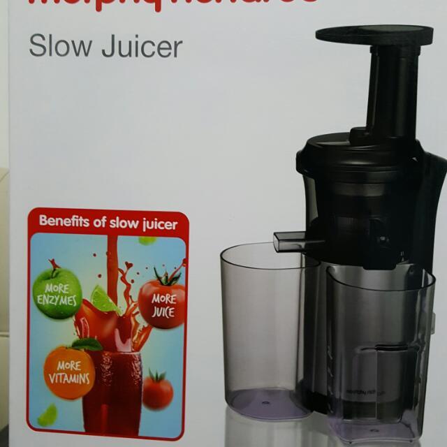 Slower Juicer