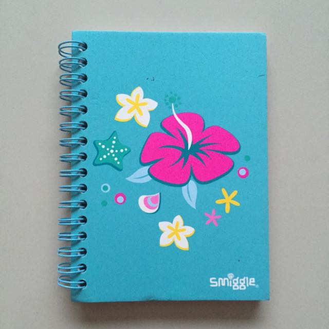SMIGGLE Blue Small Notebook