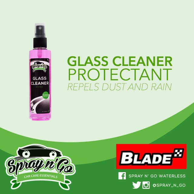 Spray n' Go Glass Cleaner Protectant