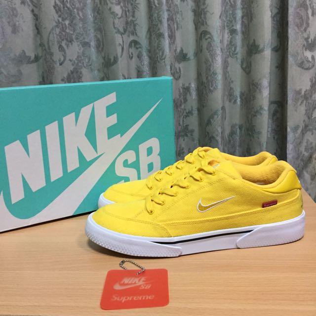 Supreme Nike GTS 稀有 黃色