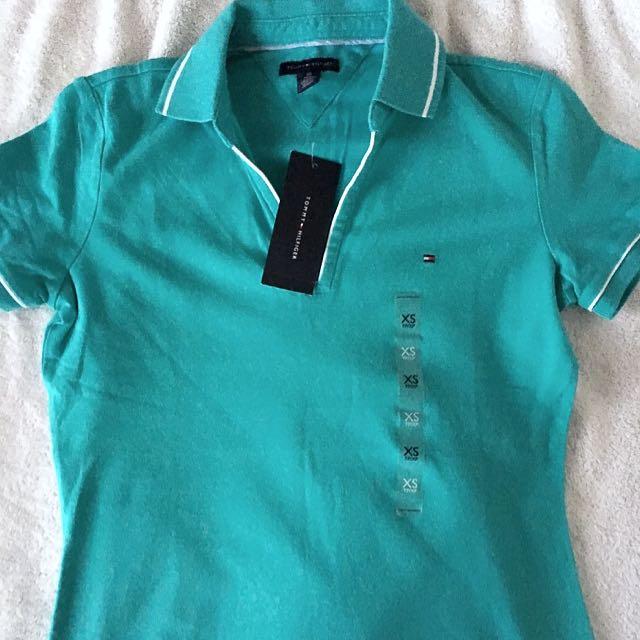 Tommy Hilfiger Teal Shirt