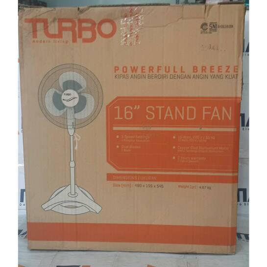 Turbo kipas angin berdiri 16inch CFR 3086/stand fan 16inch #Kipas Angi
