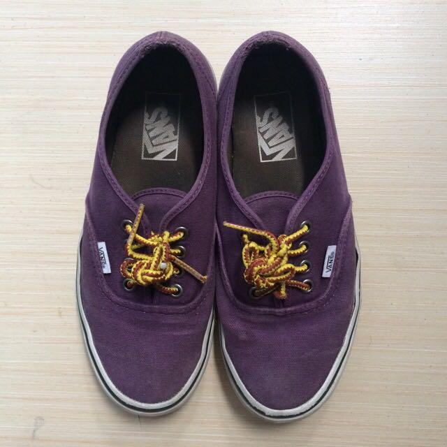 Vans Purple Authentic