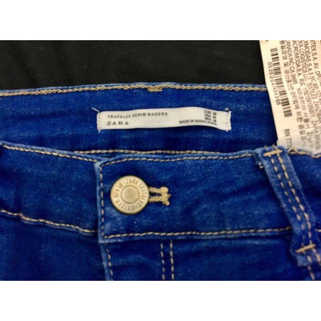 Zara小刷破牛仔褲