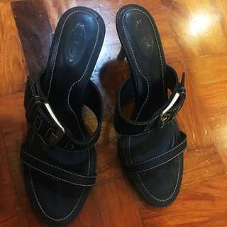 Tod's Open Toe Heels Shoes
