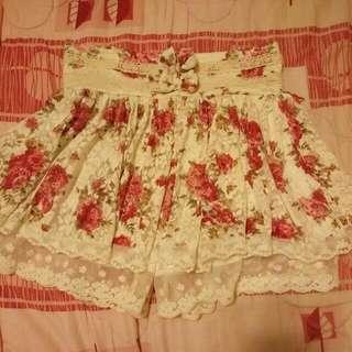 🌸日系 花裙 蕾絲裙