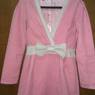 Pink Ribbon Mini Dress