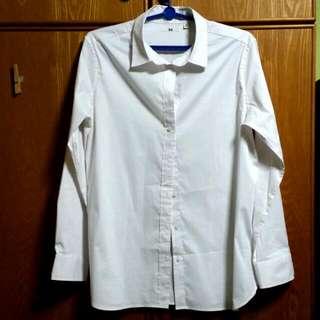 Uniqlo White Formal Shirt