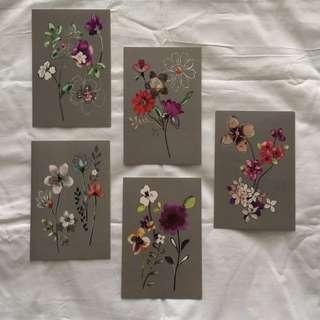 City Flowers art pieces