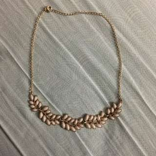 Cute Gold Plated Statement Necklace