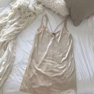Sportsgirl Gold Dress