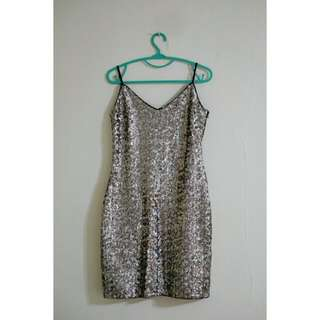 Zara Trafaluc Bling2 Dress