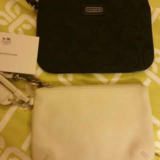 BRANDNEW COACH WRISLET black and white