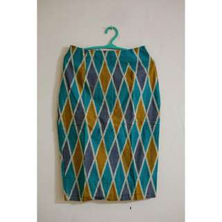 Chevia Skirt Motif Tenun