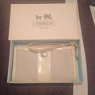 Coach Wristlet In Box