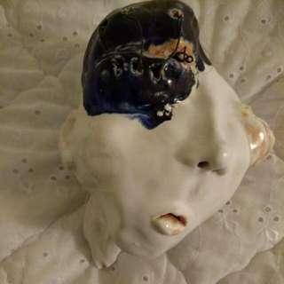 Sculpture: Deformed Head