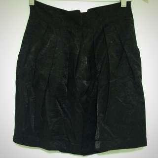 Mango Shimmer Tulip Skirt