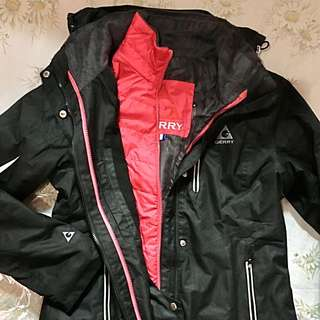 2 Layer Winter Jacket With Hood