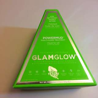 [New]GlamGlow PowerMud Dual Cleanse Mask  50g