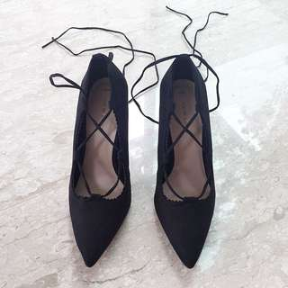BN New Look Lace Up/ Strappy Heels