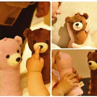 熊寶寶暖手寶+行動電源