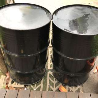Oil Drums. Table  Only Last 2 Piece!!!