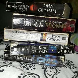 John Grisham Works. 450 all. Price can be adjusted.