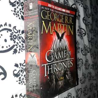 First Book Of Game Of Thrones By George R.R Martin.