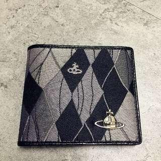 <二手良品> Vivienne Westwood 土星環 短夾