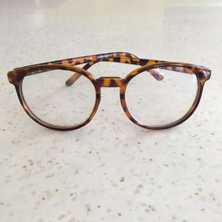 Plastic Eyeglasses (No Grade)