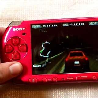 Sony PSP 3000 Radiant Red