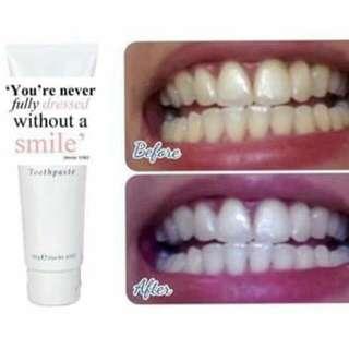Whitening Flouride Tooth Paste
