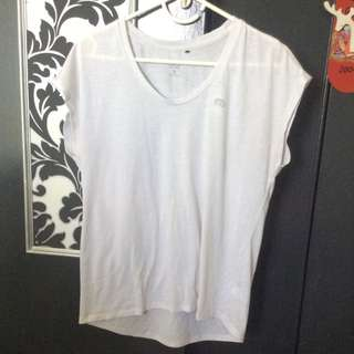 Michelle Bridges Size 12 White Shirt