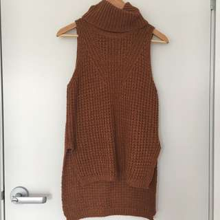 Dotti Turtle Neck Knitted Top