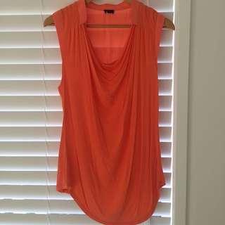 Orange Tokito Top Size 12
