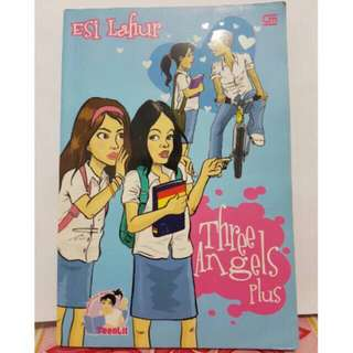 Novel Teenlit Threee Angels Plus