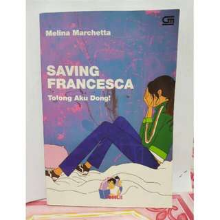 Novel Teriemahan Teenlit Saving Francesca