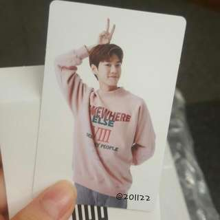 [WTB/LF] NCT Cheer Event Photocard SMTown SUM Goods Doyoung PC