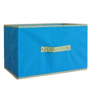 ※日系商品※經典簡易收納盒 (藍色)