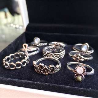 Midi Knuckle Rings (10pcs/set)