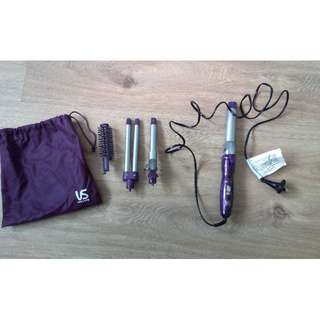 VS Sasson 'Total Curl' Curling Wand + Accessories