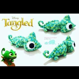 Disney Tangle Pascal Crochet Amigurumi
