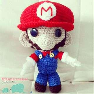 Super Mario Chrochet Amugurumi