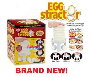 Egg Stractor Pengupas Kulit Putih Telur ( FREE RESEP ) #Souvenir