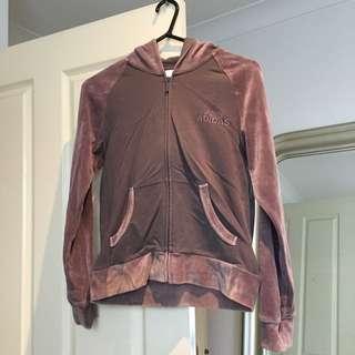 Adidas Velvet Jacket Size 8