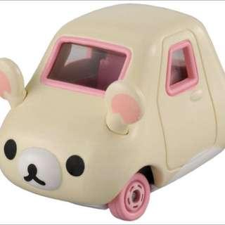 Tomica 多美 多美小汽車 懶懶熊 懶妹 妹妹 小雞 拉拉熊 SAN-x
